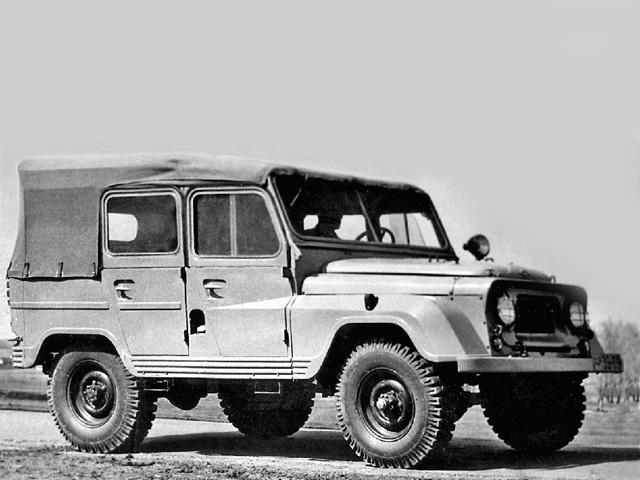 Первый вариант внедорожника УАЗ-469, 1959 год. | Фото: autowp.ru.