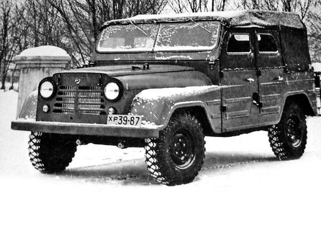 Экспериментальный внедорожник УАЗ-471, 1958 год. | Фото: pikabu.ru.