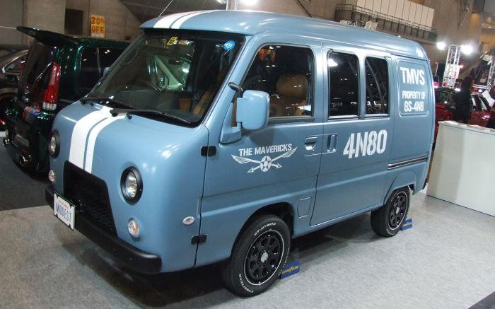 Псевдо-УАЗ, созданный в Японии. | Фото: topgir.com.ua.