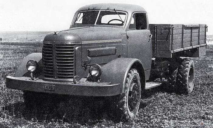 УльЗИС-253 – первый автомобиль оригинальной конструкции, спроектированный в Ульяновске, 1944 год. | Фото: gruzovikpress.ru.