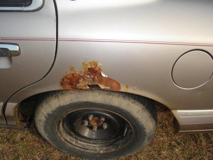 Колесные арки – одно из наиболее уязвимых мест для ржавчины. | Фото: car.ru.