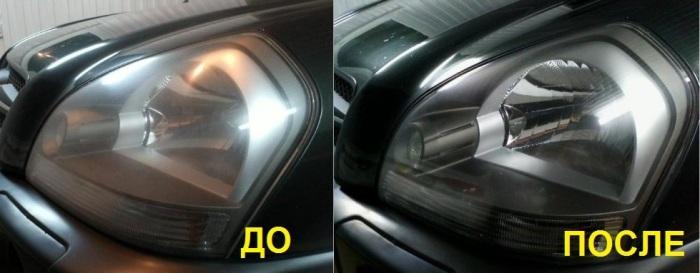 Полировка оптики очень улучшает внешний вид автомобиля. | Фото: 12volt.ua.