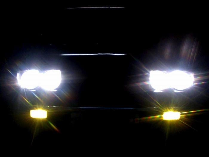Почти как «ангельские глазки» BMW. | Фото: drive2.ru.
