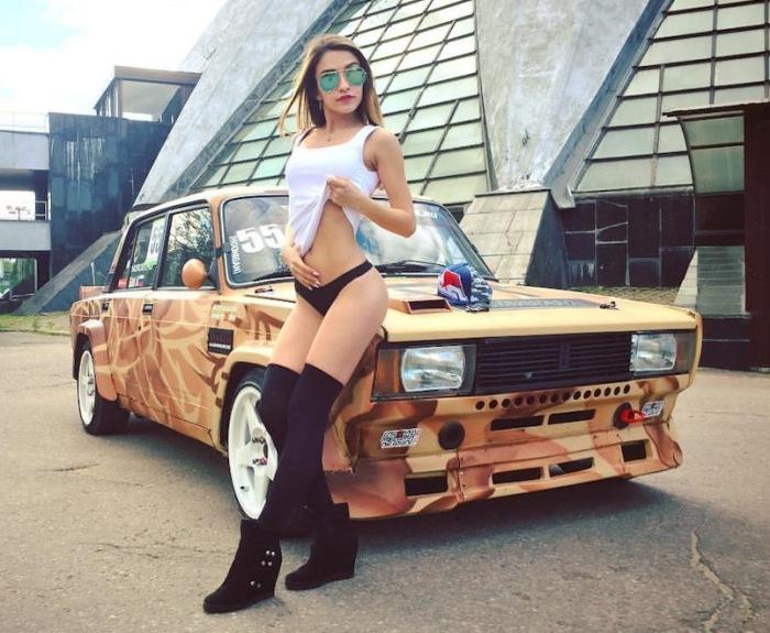 170-сильный турбированный «Жигуль». | Фото: drive2.ru.