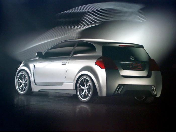 Концептуальный хэтчбек Lada C Concept 2007 года. | Фото: autowp.ru.