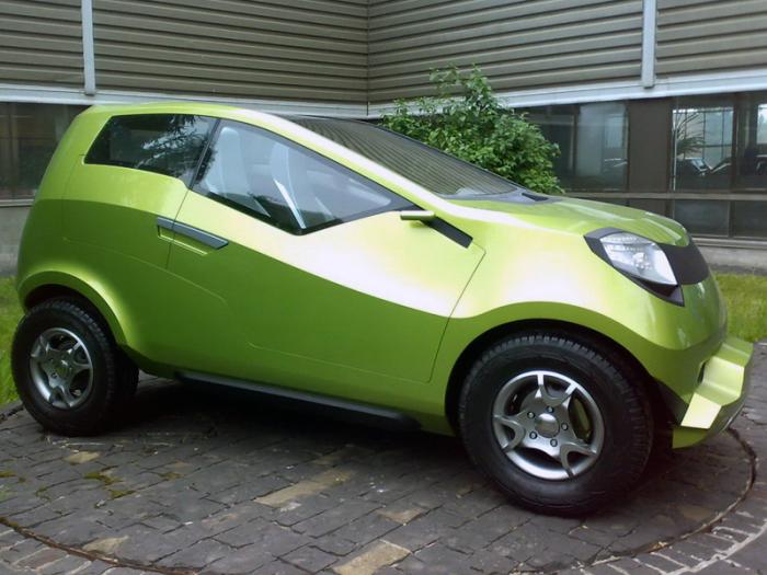 Lada Kalina 4х4 – концепт 2008 года. | Фото: autowp.ru.