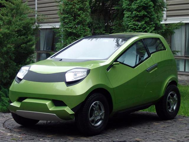 Lada Kalina 4х4 Concept - автомобиль, построенный по чертежам третьекурсника. | Фото: autowp.ru.