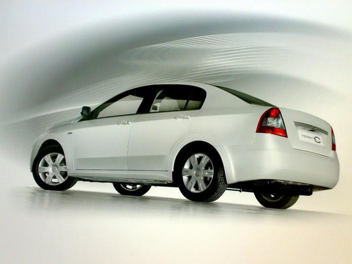 Опытный седан среднего класса ВАЗ «проект С», 2007 год. | Фото: autowp.ru.