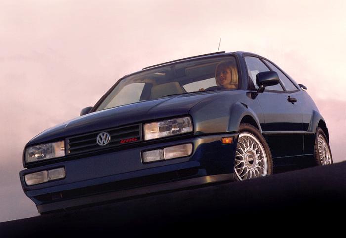 Volkswagen Corrado VR6, который уже можно считать классическим автомобилем.