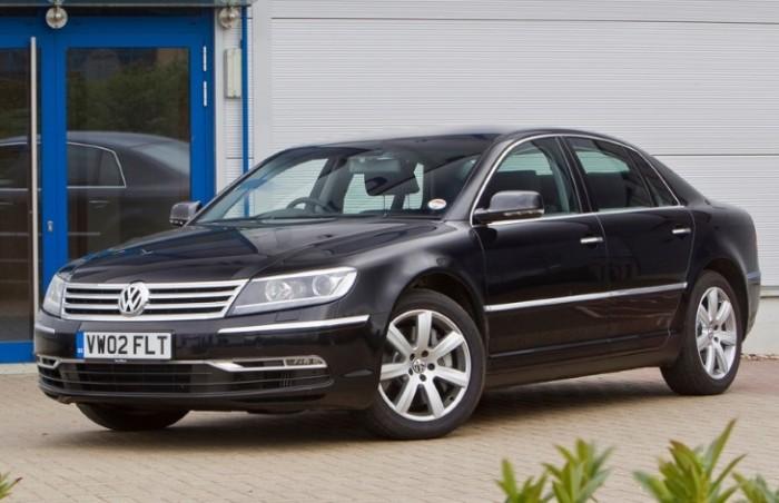 Volkswagen Phaeton – представительский седан, продажи которого стали полным провалом. | Фото: yandex.com.
