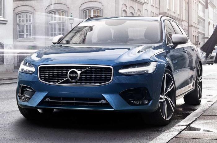 Большой универсал Volvo V90, популярный в Швеции. | Фото: autocar.co.uk.