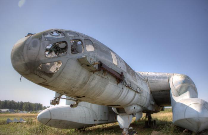 Уникальный экранолет-амфибия в музее ВВС в Монино.