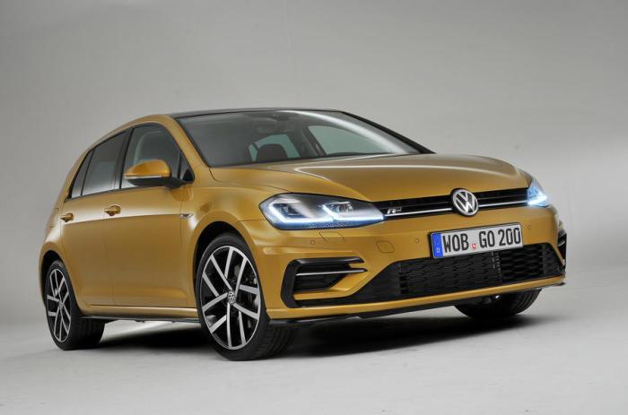 Volkswagen Golf пятого поколения. | Фото: autocar.co.uk.