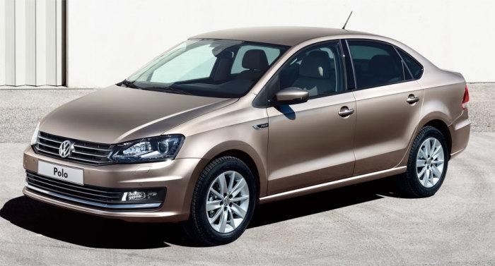 Volkswagen Polo Sedan – лидер продаж среди автомобилей в Беларуси. | Фото: topruscar.ru.