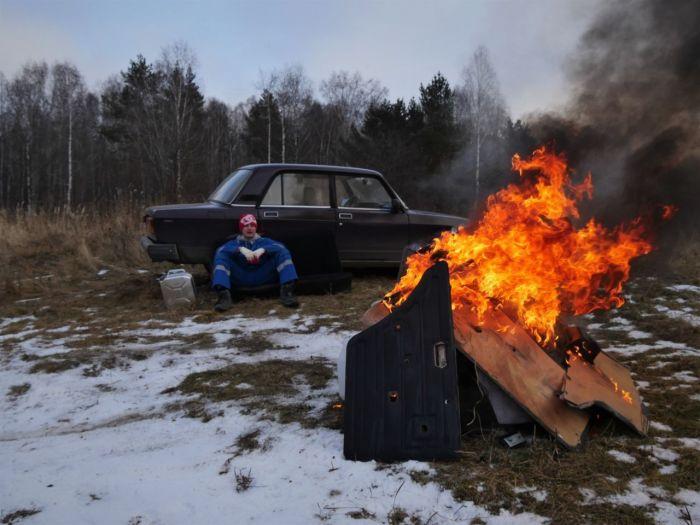 Радикальное решение по облегчению автомобиля. | Фото: drom.ru.