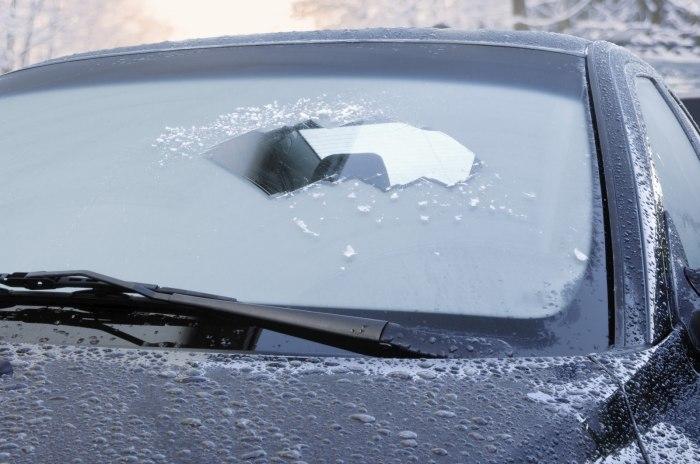 Ограниченная обзорность зимой может привлечь внимание сотрудников ГИБДД. | Фото: autotheme.info.