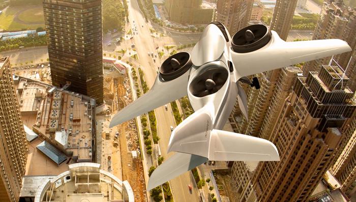 Небольшой самолет XTI TriFan 600 с возможностью вертикального взлета и посадки. | Фото: robbreport.com.