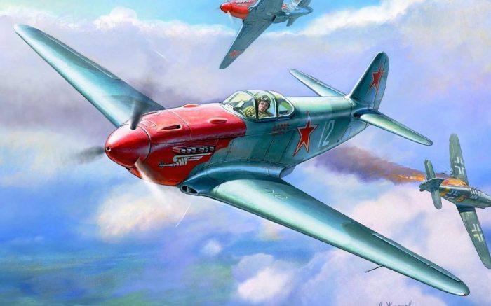 На истребителе Як-3 летали многие советские и французские асы. | Фото: variety-store.ru.