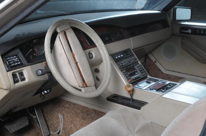 Интерьер салона представительского лимузина ЗИЛ-4102.
