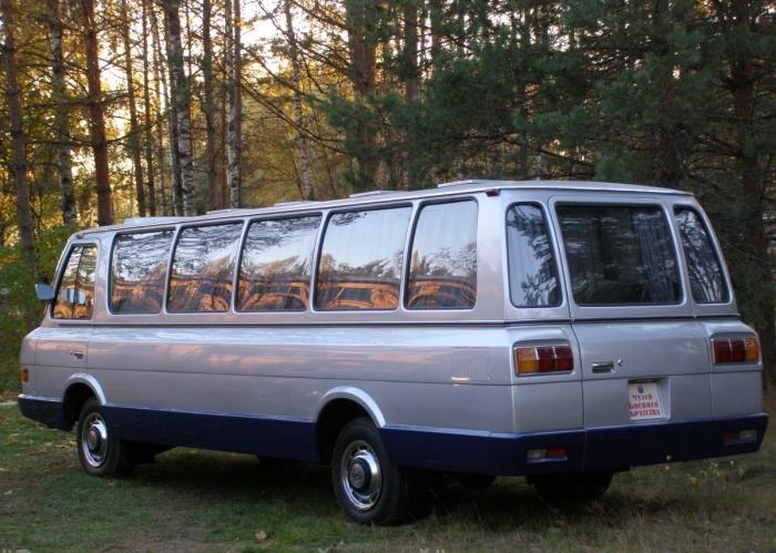 ЗИЛ-118К - автобус повышенного комфорта не для всех.