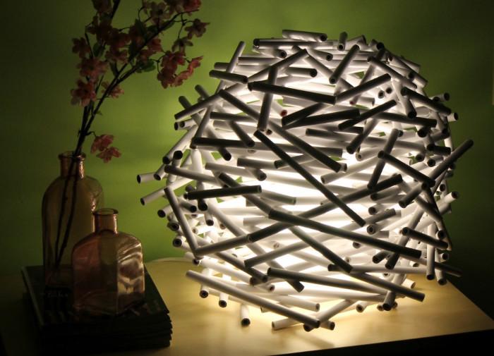 370160476 Как сделать светильник своими руками: 15 идей и фото
