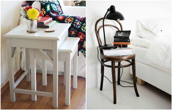 Один вид мебели легко превращается в другой.
