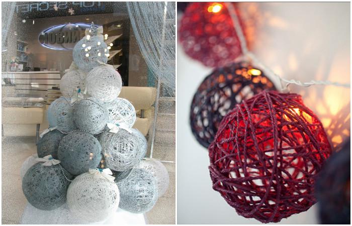 Оригинальный декор из подручных материалов украсит любой дизайн интерьера, главное - правильно подобрать цвет.