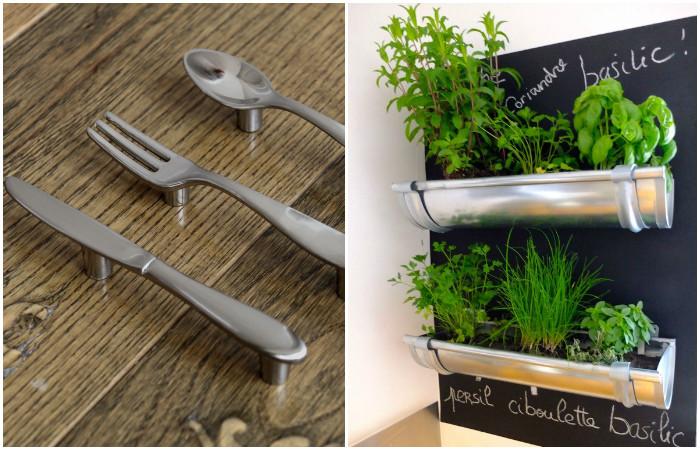 Стильные идеи для маленькой кухни.