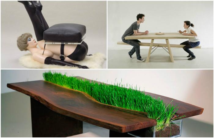 Креативная дизайнерская мебель.