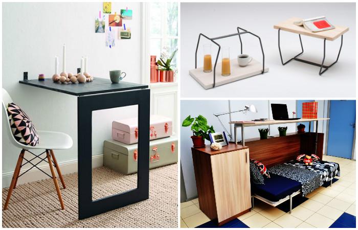 Мебель-трансформер - компактная и удобная.
