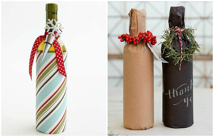 Изготвление декора бутылки шампанского из бумаги займет совсем немного времени.