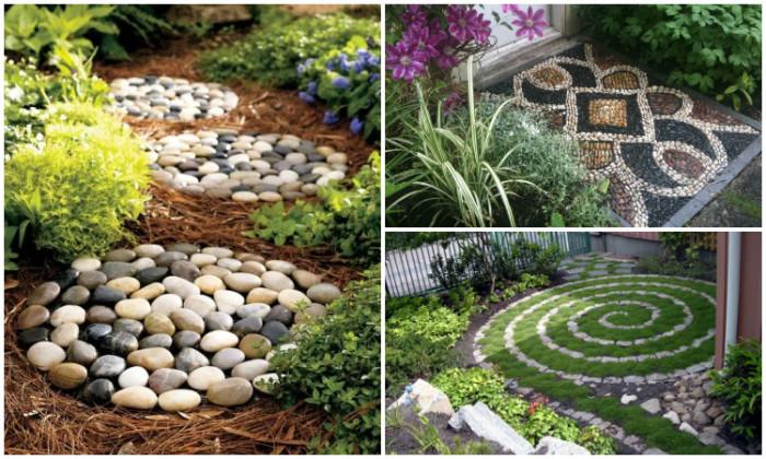 Идеи по использованию камня на даче.