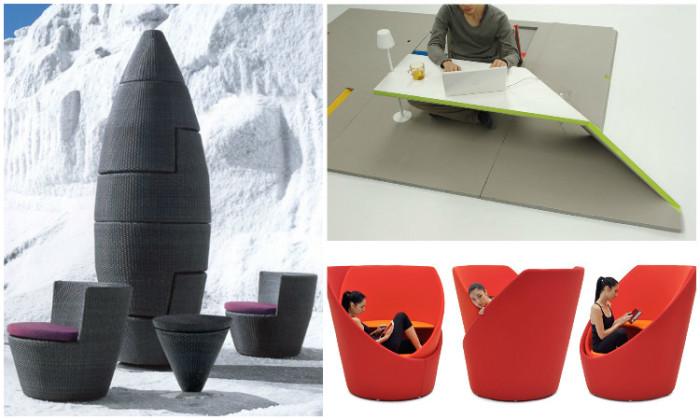 Дизайнерская мебель для маленьких пространств.