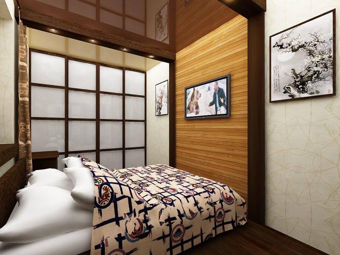 Интерьер в японском стиле.
