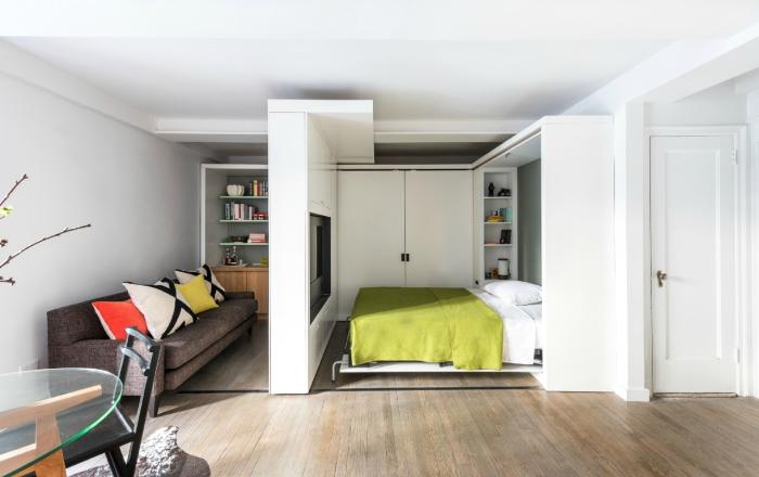 Даже маленькая спальня может быть удобной и стильной.