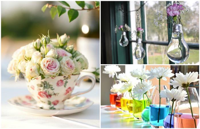 Идеи для цветочного декора.
