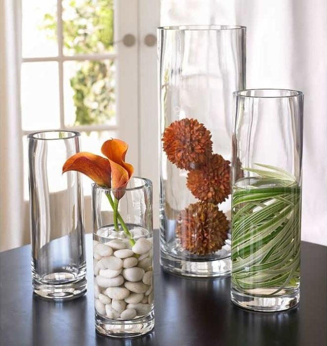 Необычные вазы.