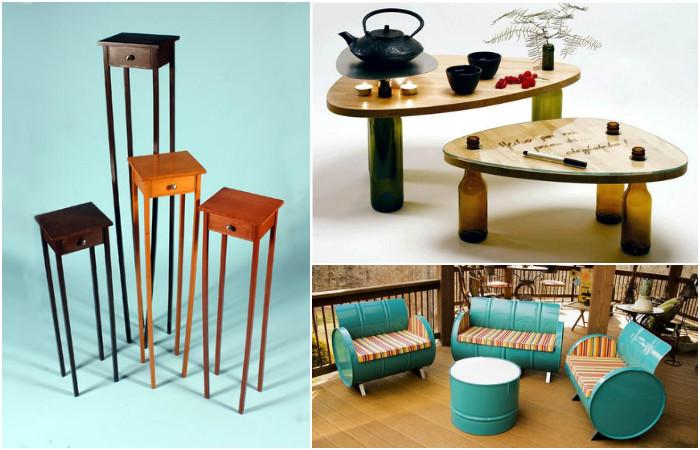 Идеи для создания креативной мебели своими руками.
