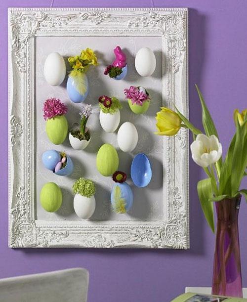Весенний декор в виде панно.