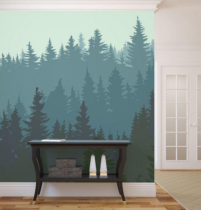 Простая, но эффектная картина на стене.