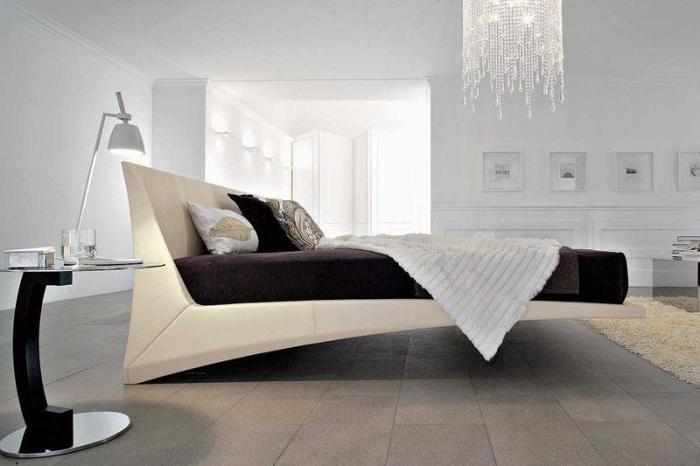 Парящая кровать.