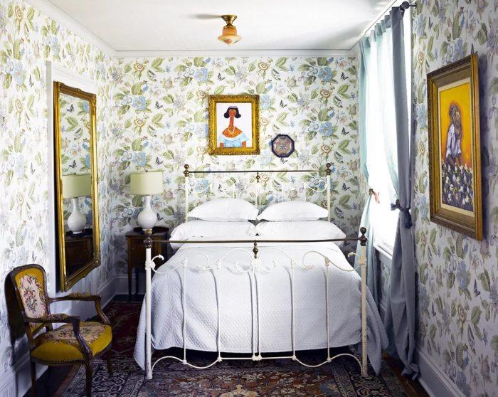 Комната в винтажном стиле.