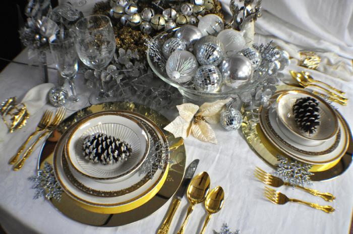 Золото и серебро прекрасно сочетаются.