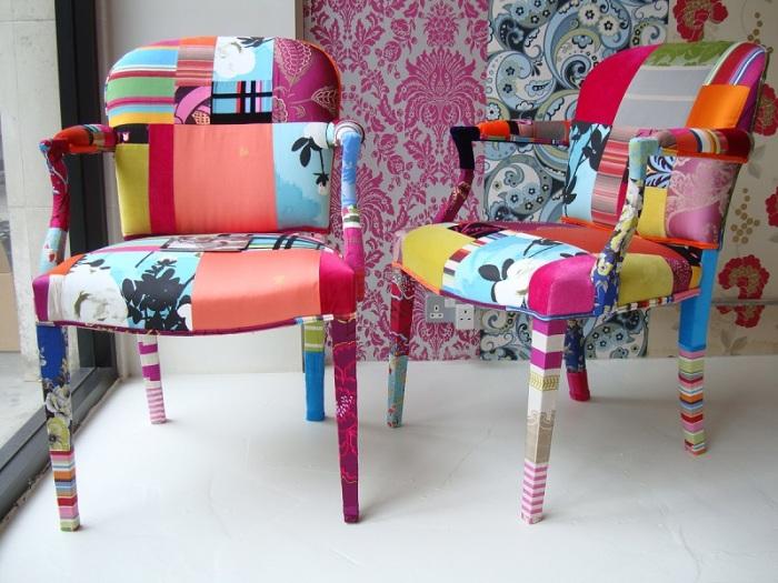 Обновление старых стульев.