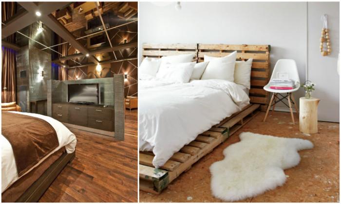 Для того чтобы комната выглядела просторной, совсем необязательно заполнят ее отражающими поверхностями.