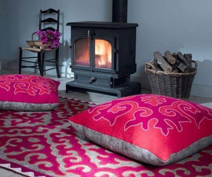 Подушки для сидения на полу.