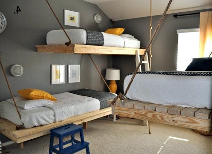 Подвесные кровати.