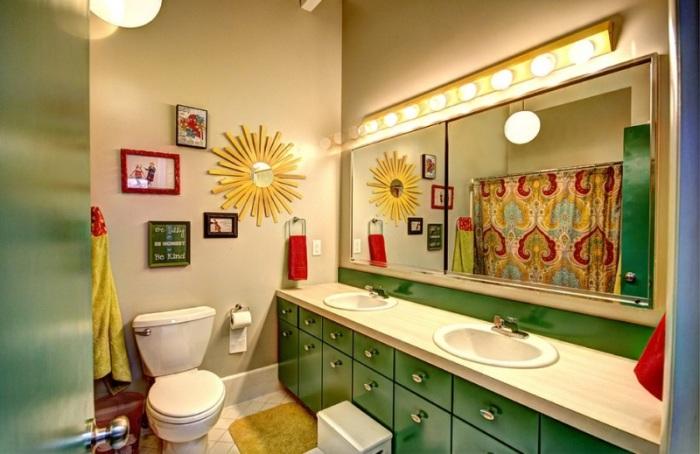 Ванная комната для детей и взрослых.