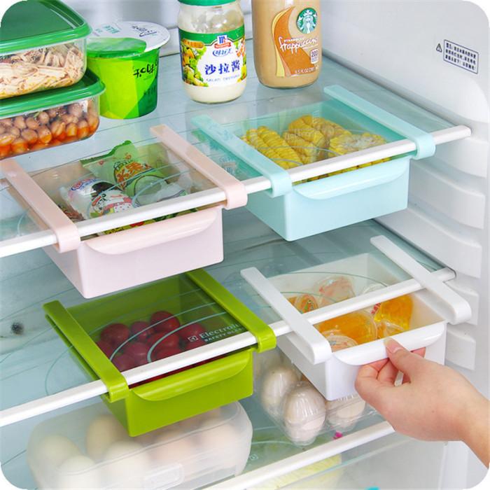 Дополнтельные системы хранения в холодильнике.