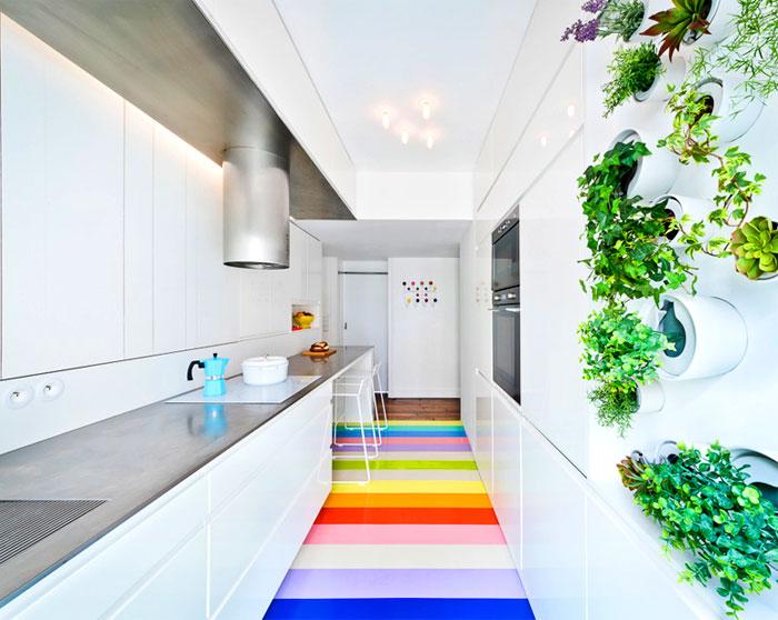 Белая кухня SABO studio.